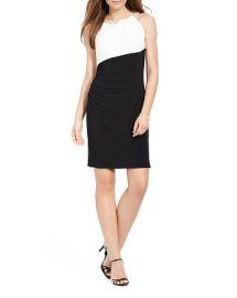 Lauren Ralph Lauren Color-Blocked Matte Jersey Dress at Bloomingdales