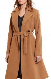 Lauren Ralph Lauren Wool Blend Wrap Coat  Regular  amp  Petite   Online Only    Nordstrom at Nordstrom