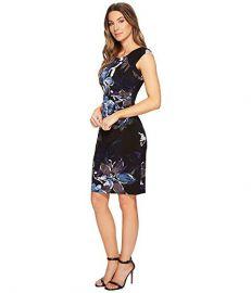 Lauren by Ralph Lauren Womens Koriza Patras Floral Dress at Amazon