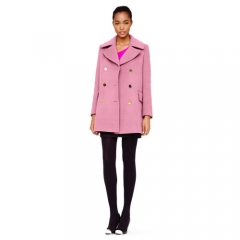 Laurent Wool Coat at Club Monaco