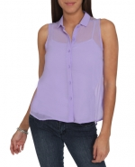 Lavender shirt like Annies at Wet Seal