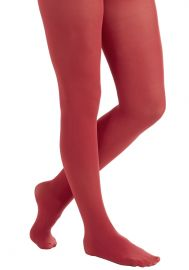 Layer It On Tights in Cherry at ModCloth