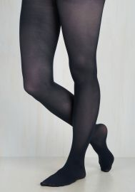 Layer It On Tights in Midnight Blue at ModCloth
