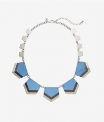 Layered Chevron Necklace at Express