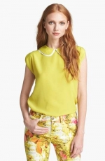 Layered collar top by Ted Baker at Nordstrom