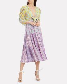 Layla Paisley Dress by Hemant Nandita at Intermix