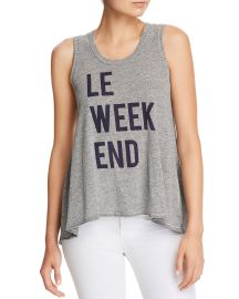Le Weekend Trapeze Tank at Sundry