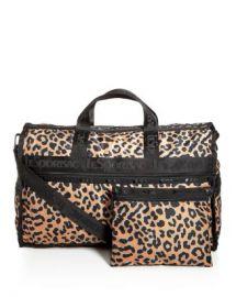 LeSportsac Candace Leopard Print Weekender Duffel Bag Handbags - Bloomingdale s at Bloomingdales