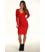 Lea Micheles red dress on Glee at 6pm