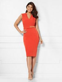 Leandra sheath Dress eva Mendes Collection by New York & Company at NY&C