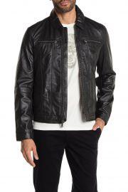Leather Jacket by John Varvatos Star USA at Nordstrom Rack