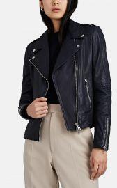 Leather Moto Jacket at Barneys