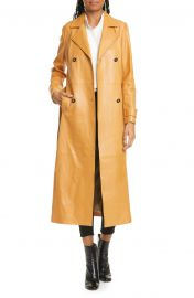 Leather Trench Coat at Nordstrom