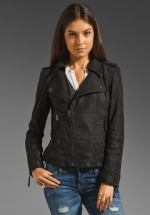 Leather jacket like Carolines on The Vampire Diaries at Revolve