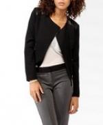Leather shoulder jacket like Elenas at Forever 21