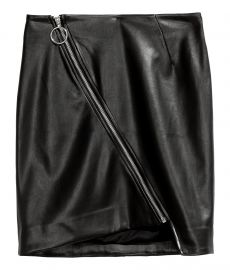 Leather skirt at H&M