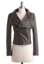 Leather style jacket like Emilys at Modcloth