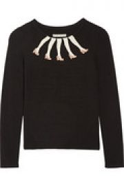 Legs knitted sweater at The Outnet