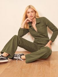 Leia Boiler Suit at Reformation