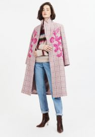 Leida II Coat at Tanya Taylor