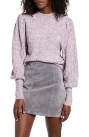 Leith Juliet Sleeve Sweater   Nordstrom at Nordstrom