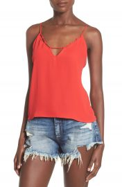 Leith Cutout Camisole at Nordstrom