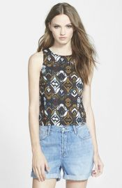 Leith Print Keyhole Tank at Nordstrom