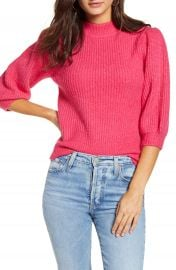 Leith Puff Sleeve Sweater   Nordstrom at Nordstrom