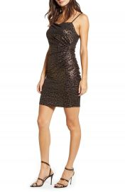 Leith Ruched Body-Con Minidress   Nordstrom at Nordstrom