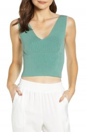Leith Sassy Crop Tank  Regular  amp  Plus Size    Nordstrom at Nordstrom
