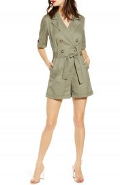 Leith Utility Belted Romper  Regular  amp  Plus Size    Nordstrom at Nordstrom