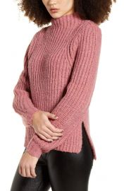 Leith mock neck sweater at Nordstrom