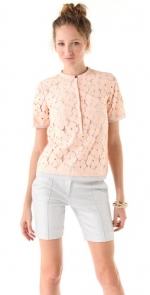 Lemons DVF top at Shopbop at Shopbop
