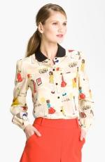 Lemons Kate Spade blouse at Nordstrom