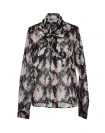 Lemon's black floral blouse by Celine at Yoox
