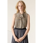 Lemons blouse with daisies at Nordstrom
