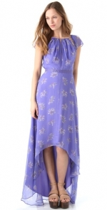 Lemon's blue hi low dress at Shopbop at Shopbop