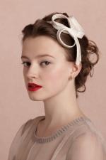 Lemon's bow headband at Bhldn