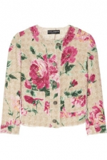 Lemons floral jacket by Dolce and Gabbana at Outnet
