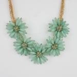 Lemons flower necklace at Design Spark