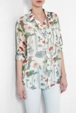 Lemon's flower print shirt at My Wardrobe