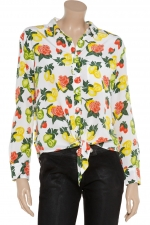 Lemons fruit print blouse at The Outnet at Outnet