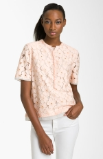 Lemon's pink lace blouse at Nordstrom at Nordstrom