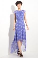 Lemon's purple floral dress at Nordstrom at Nordstrom
