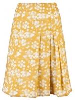 Lemons yellow skirt by Akris Punto at Farfetch