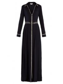 Lempicka  silk crepe de Chine gown at Matches