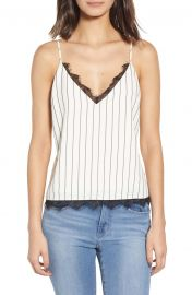 Lennie Lace Trim Camisole at Nordstrom