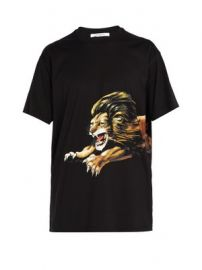 Leo lion-print cotton T-shirt at Matches