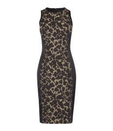 Leopard Bodycon Dress at Karen Millen
