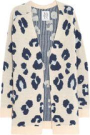 Leopard Cardigan by Zoe Karssen at Net A Porter